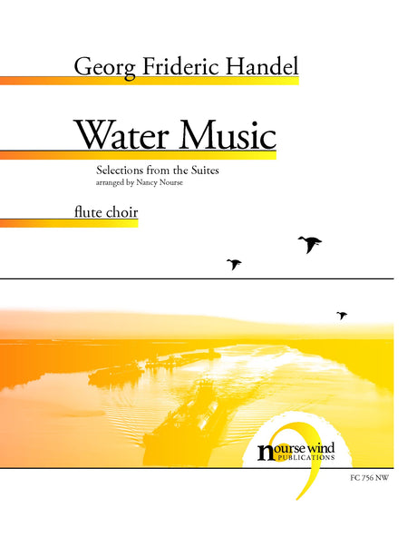 Handel (arr. Nourse) - Water Music for Flute Choir - FC756NW