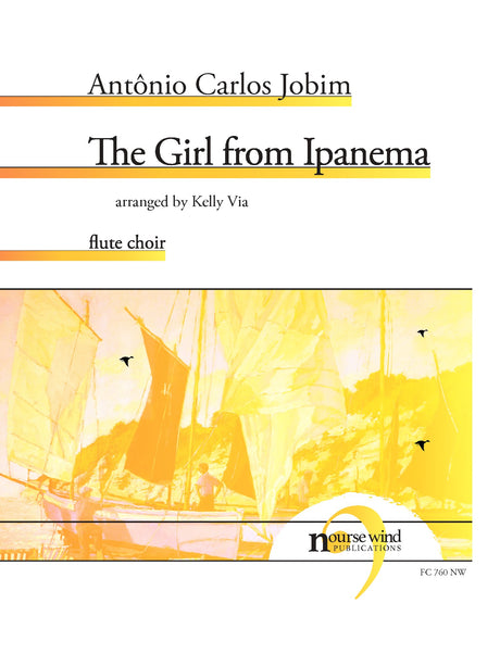 Jobim (arr. Via) - The Girl from Ipanema for Flute Choir - FC760NW