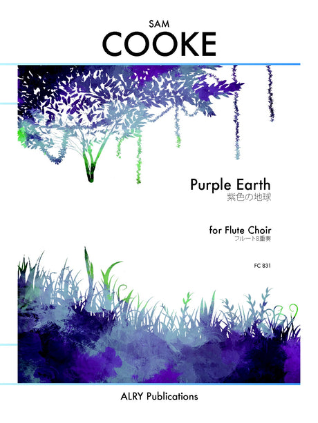 Cooke - Purple Earth for Flute Choir - FC831