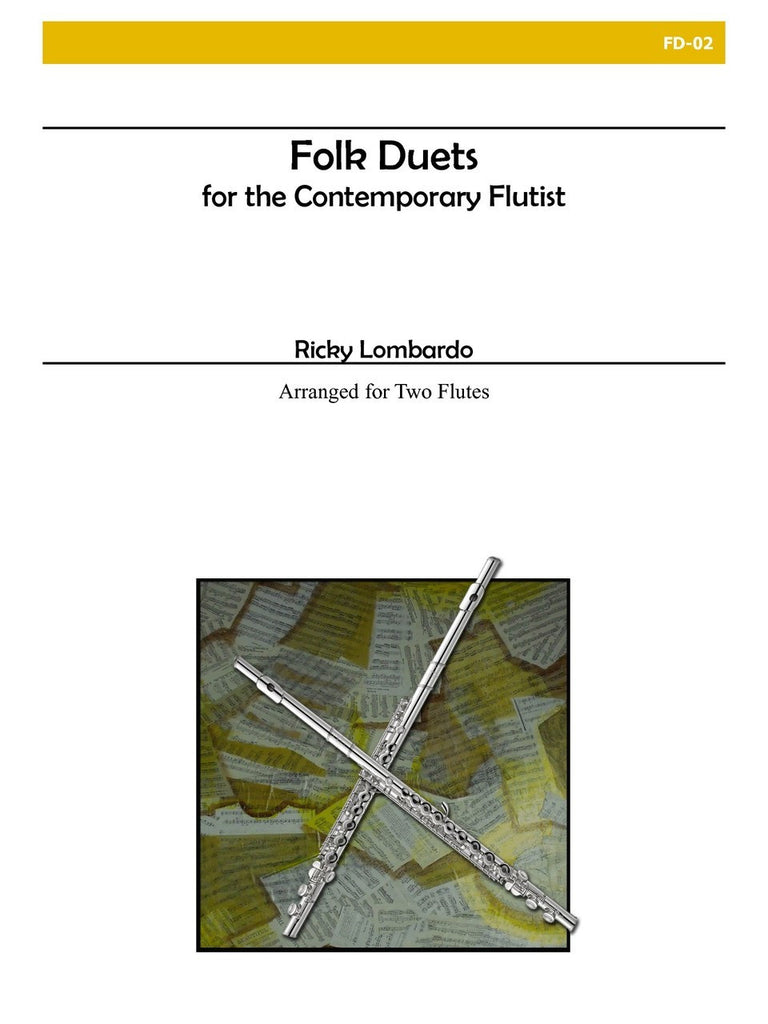 Lombardo - Folk Duets for the Contemporary Flutist - FD02