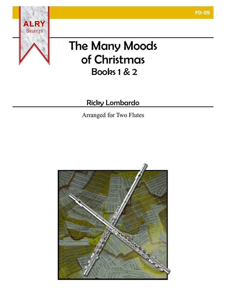 Lombardo - The Many Moods of Christmas, Books 1 & 2 (Flute) - FD05