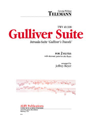 Telemann - Gulliver Suite for Two Flutes - FD32