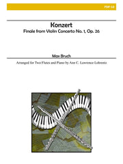 Bruch - Konzert for Two Flutes and Piano - FDP10