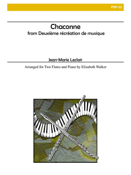 Leclair (arr. Walker) - Chaconne from Deuxieme Recreation de Musique - FDP22