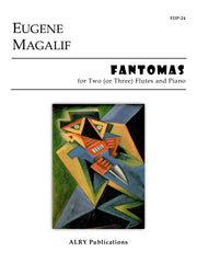 Magalif - Fantomas for Two (or Three) Flutes and Piano - FDP24