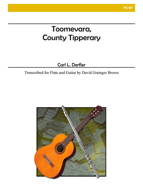 Derfler (arr. Brown) - Toomevara, County Tipperary for Flute and Guitar - FG07