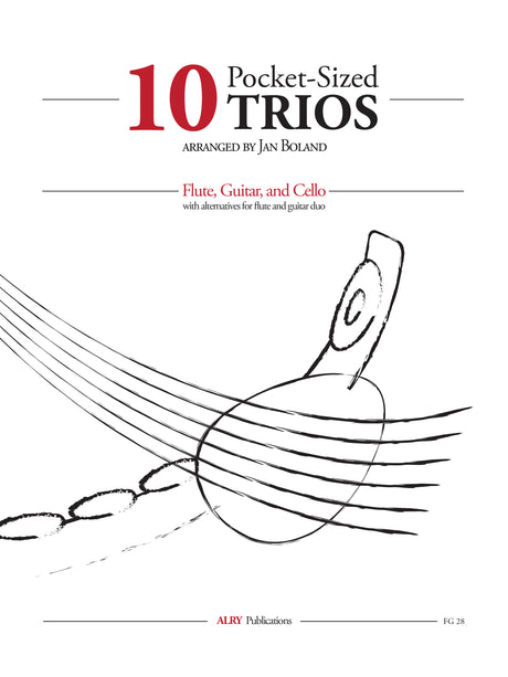 Boland - Ten Pocket-Sized Trios for Flute, Guitar, and Cello - FG28