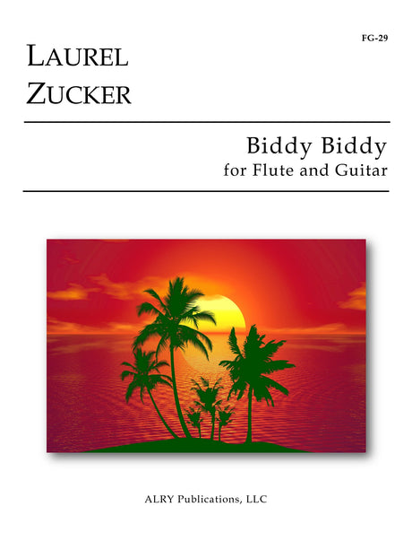 Zucker - Biddy Biddy for Flute and Guitar - FG29