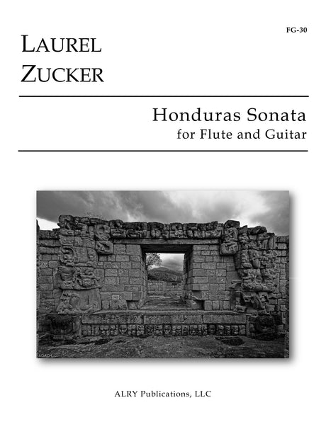 Zucker - Honduras Sonata for Flute and Guitar - FG30