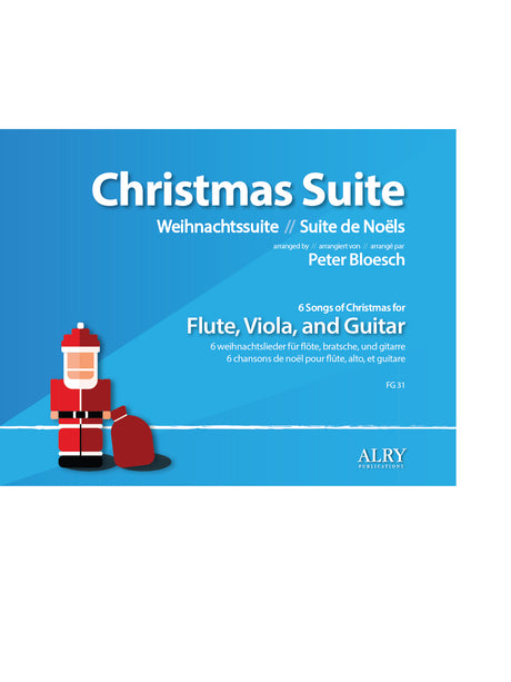 Bloesch - Christmas Suite for Flute, Viola, and Guitar - FG31