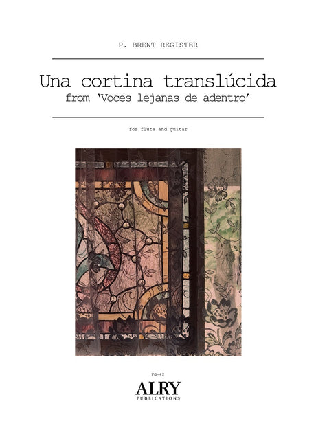 Register - Una Cortina Translucida for Flute and Guitar - FG42