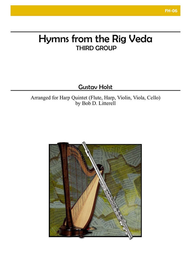 Holst (arr. Litterell) - Hymns from Rig Veda - FH06
