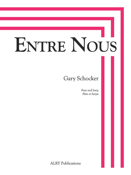 Schocker - Entre Nous for Flute and Harp - FH38