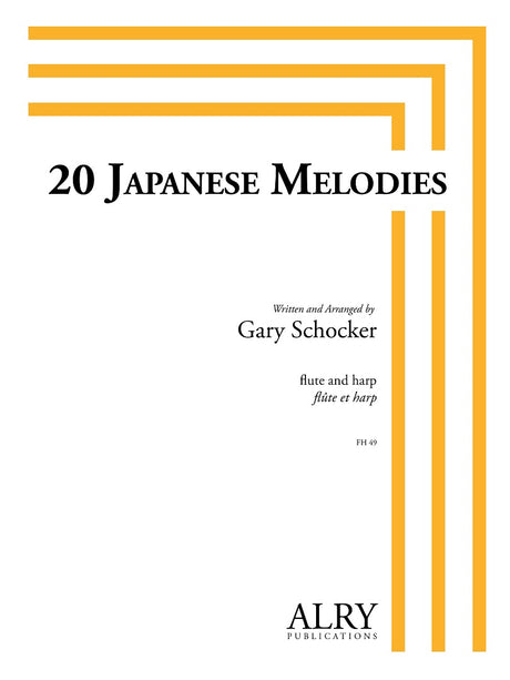 Schocker - 20 Japanese Melodies for Flute and Harp - FH49