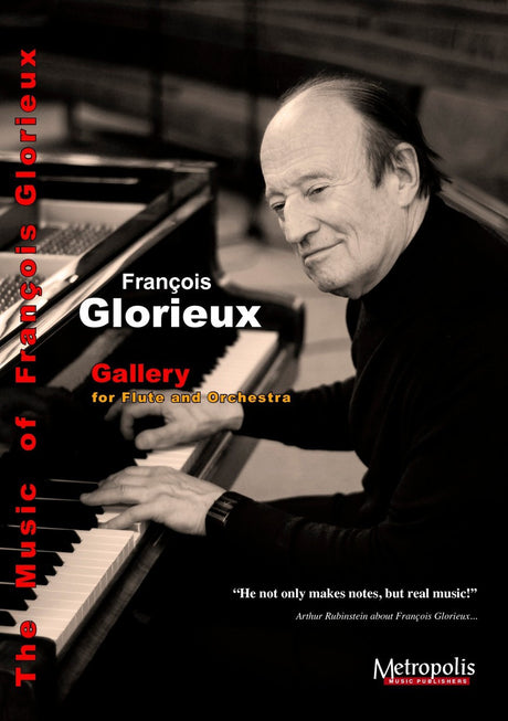Glorieux - Gallery (Flute and Orchestra) - FOR6901EM