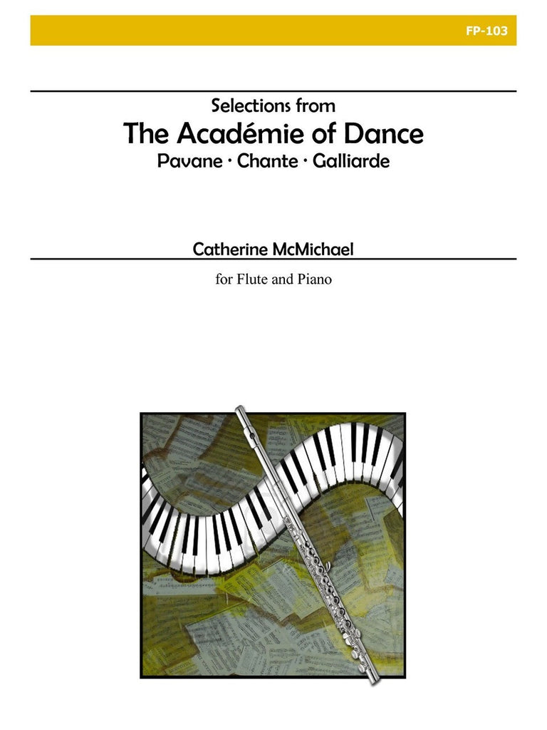 McMichael - Selections from The Academie of Dance (Flute and Piano) - FP103