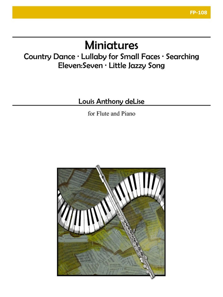deLise - Miniatures for Flute and Piano - FP108