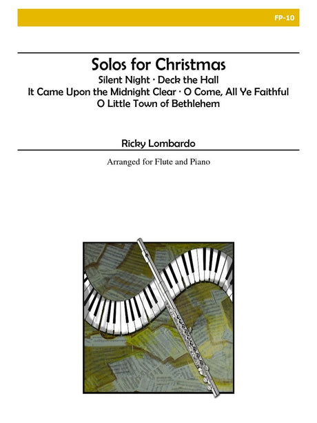 Lombardo - Solos for Christmas for Flute and Piano - FP10