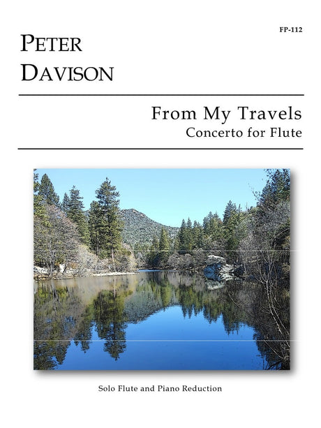 Davison - From My Travels (Flute and Piano) - FP112