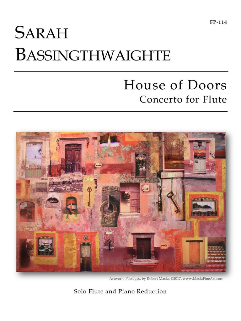 Bassingthwaighte - House of Doors (Piano Reduction) - FP114