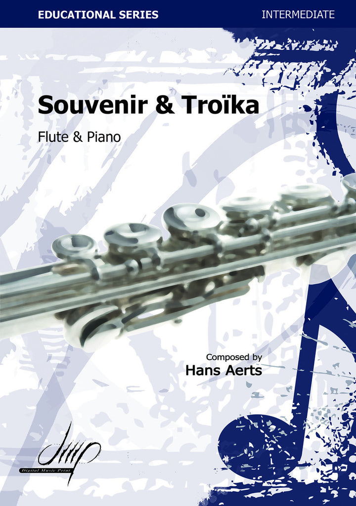 Aerts - Souvenir and Troika (Flute and Piano) - FP115035DMP
