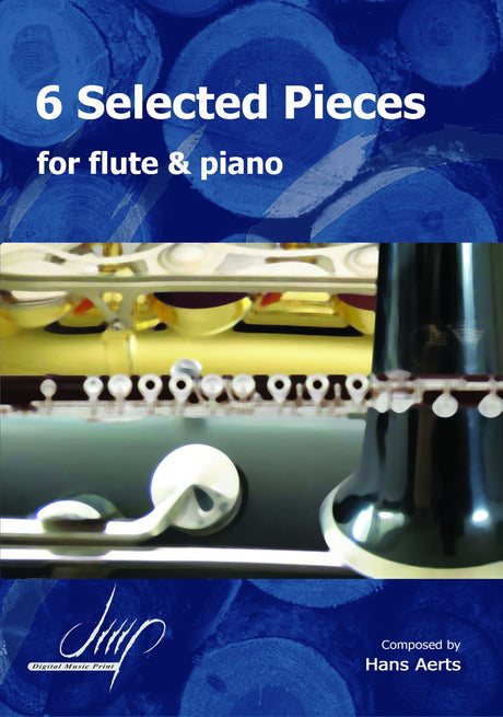 Aerts - 6 Selected Pieces for Flute and Piano - FP116019DMP
