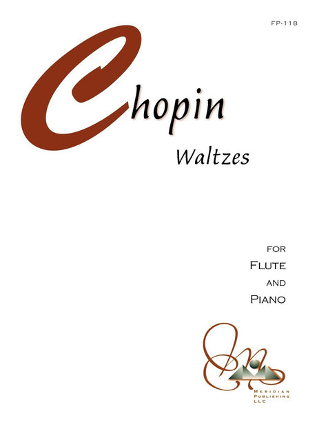 Chopin - Waltzes for Flute and Piano - FP118