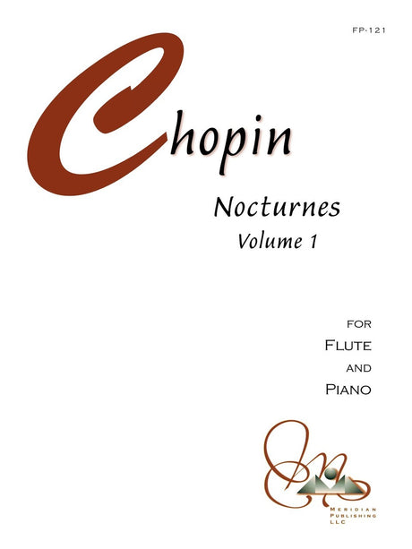 Chopin - Nocturnes for Flute and Piano, Volume 1 - FP121