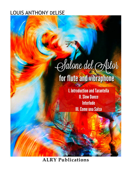 deLise - Salone del Astor for Flute and Vibraphone - FP129