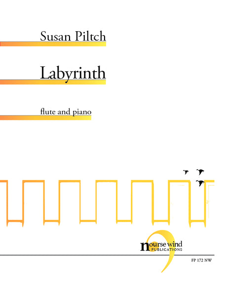 Piltch - Labyrinth for Flute and Piano - FP172NW