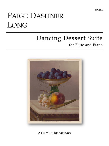 Long - Dancing Dessert Suite for Flute and Piano - FP184