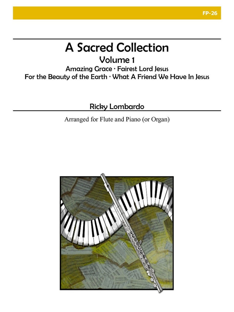 Lombardo - A Sacred Collection, Vol. I for Flute and Piano - FP26