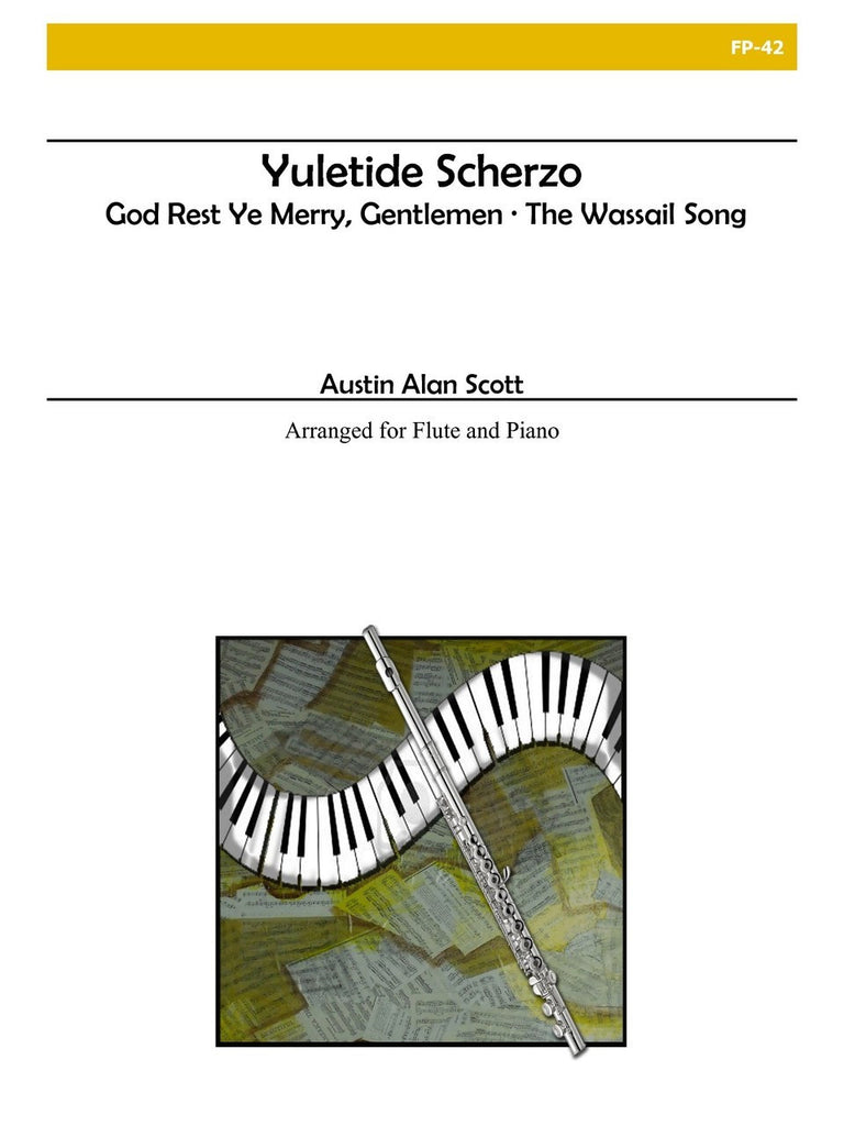 Scott - Yuletide Scherzo for Flute and Piano - FP42
