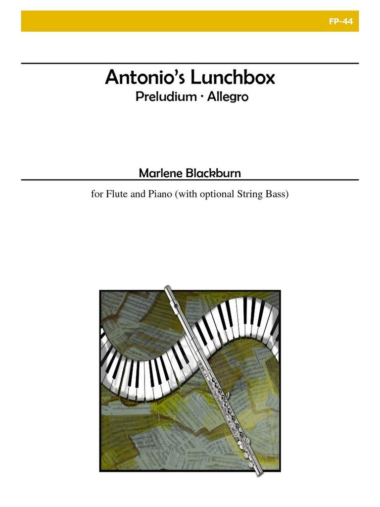 Blackburn - Antonio's Lunchbox for Flute and Piano - FP44