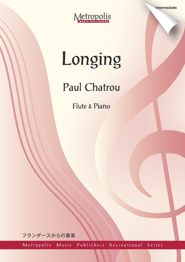 Chatrou - Longing (Flute and Piano) - FP6279EM
