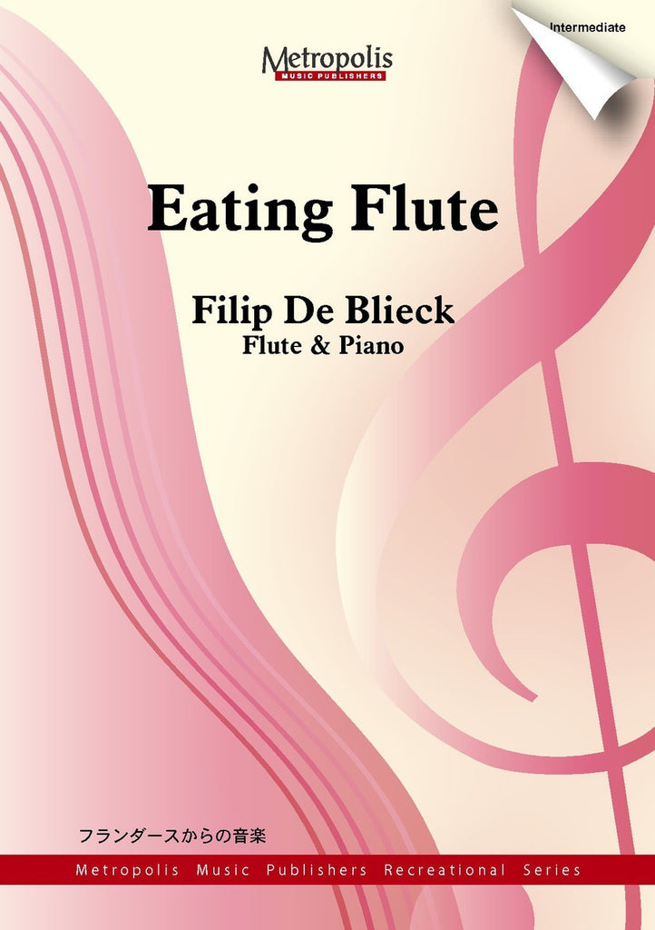 De Blieck - Eating Flute (Flute and Piano) - FP6305EM