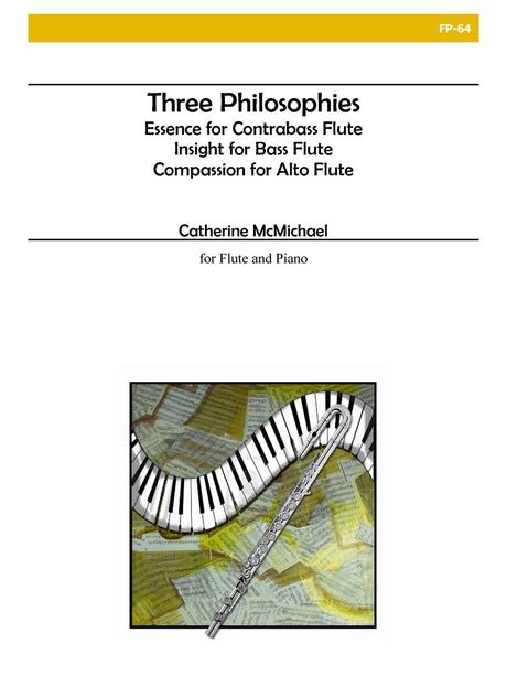 McMichael - Three Philosophies (Flute and Piano) - FP64