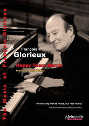Glorieux - Happy Team March for Flute and Piano - FP7335EM