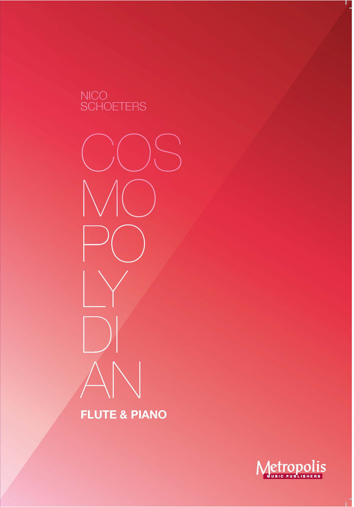 Schoeters - Cosmopolydian for Flute and Piano - FP7396EM