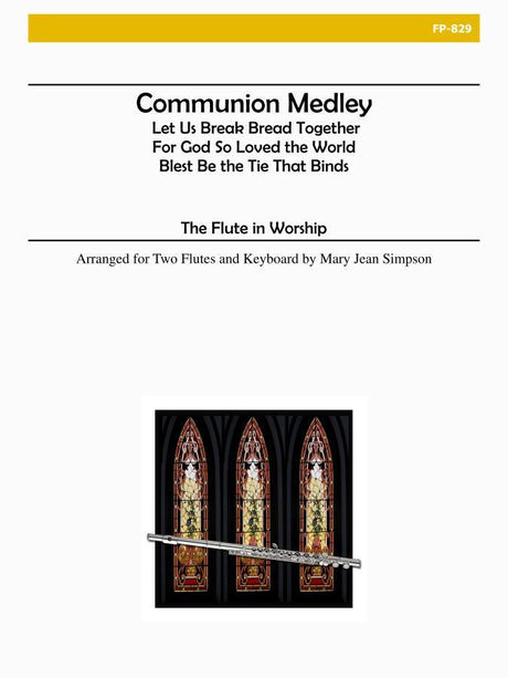 Flute in Worship - Communion Medley - FP829