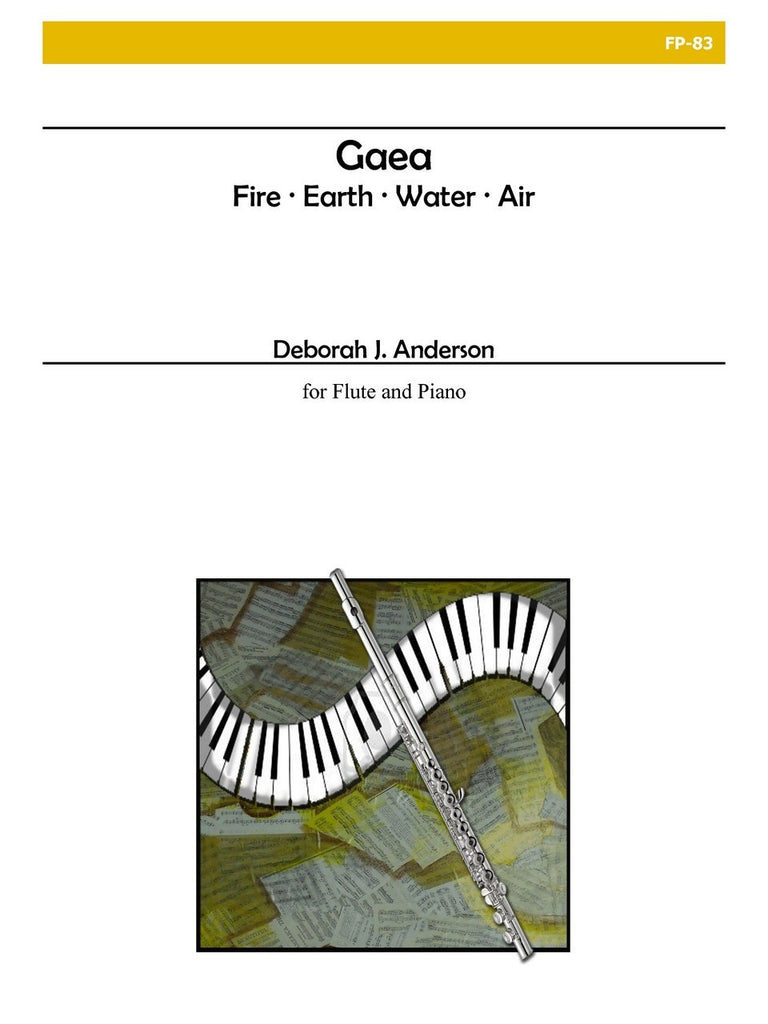 Anderson - Gaea for Flute and Piano - FP83