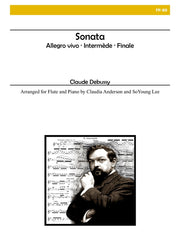 Debussy - Sonata for Flute and Piano - FP89