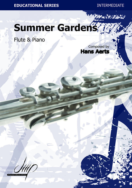 Aerts - Summer Gardens for Flute and Piano - FP9152DMP