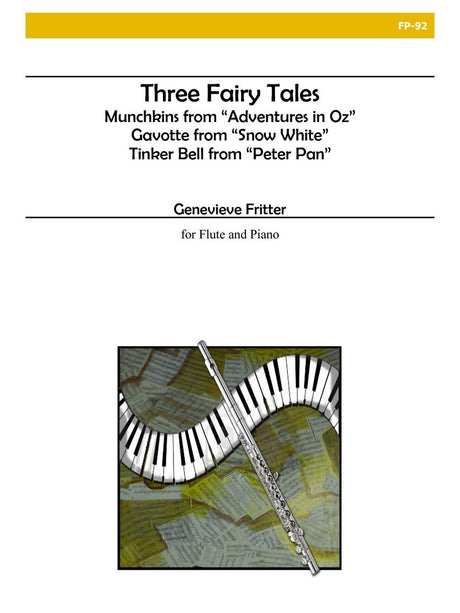 Fritter - Three Fairy Tales for Flute and Piano - FP92