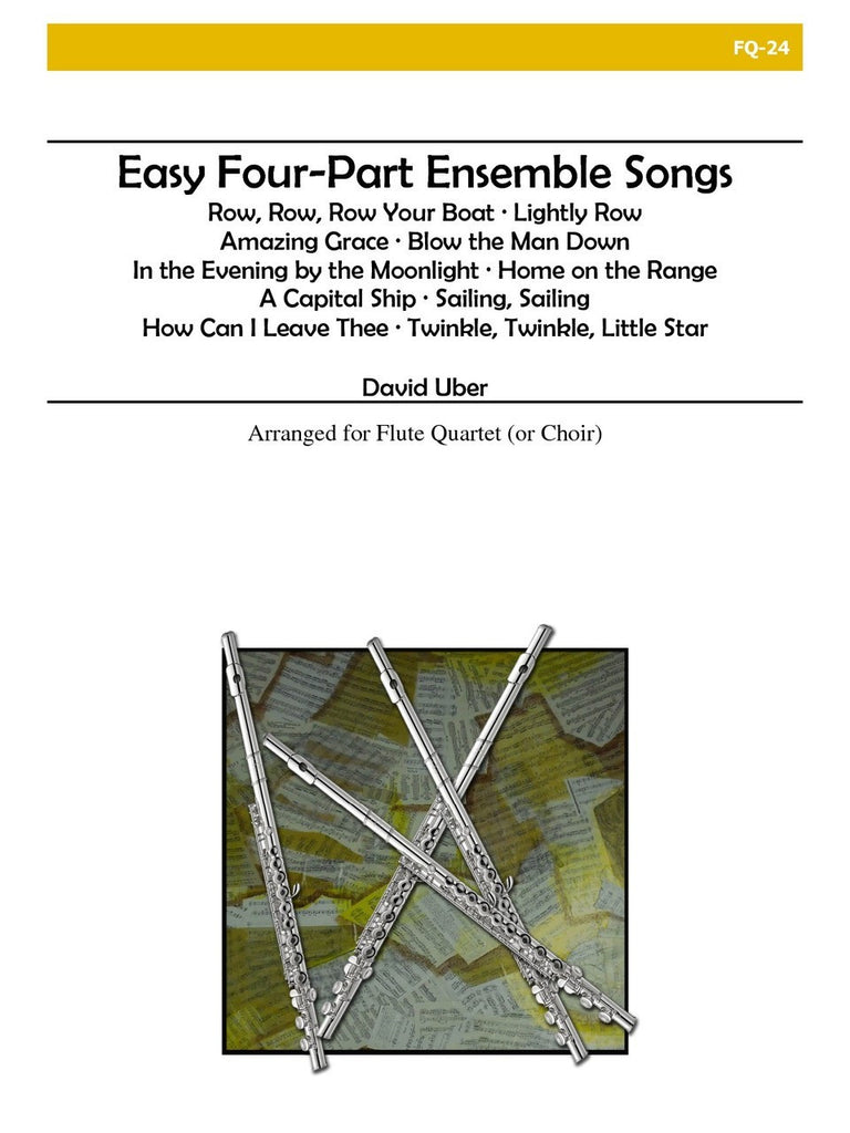 Uber - Easy Four-Part Ensemble Songs - FQ24