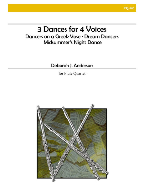 Anderson - 3 Dances for 4 Voices - FQ42