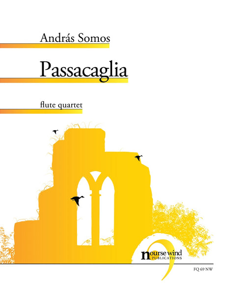Somos - Passacaglia for Flute Quartet - FQ69NW