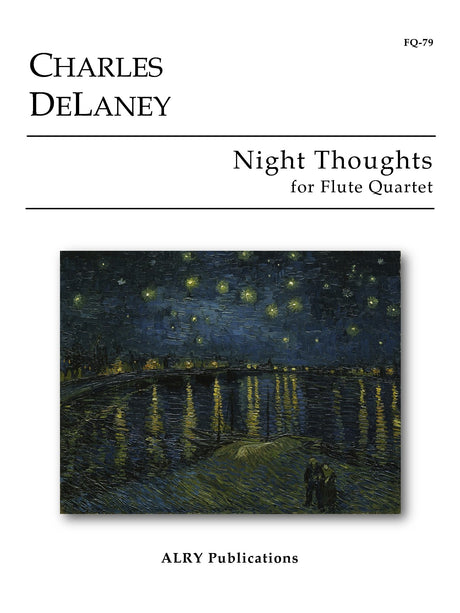 DeLaney - Night Thoughts for Flute Quartet - FQ79