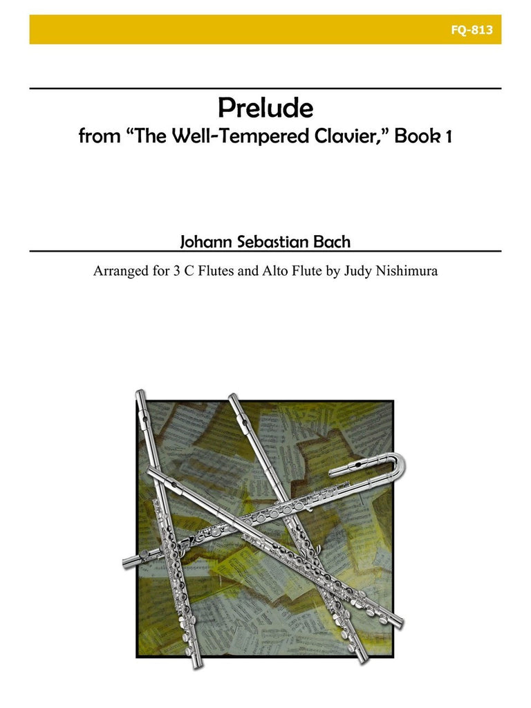 Bach - Prelude from the Well-Tempered Clavier, Book I - FQ813