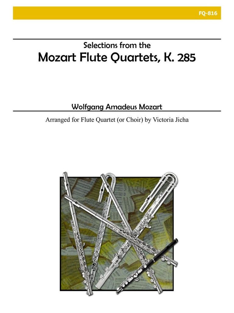 Mozart (arr. Jicha) - Selections from the Mozart Flute Quartets - FQ816